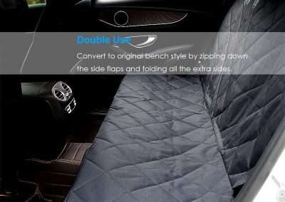 Ultimate Dog Car Seat Cover - Back Seat Hammock