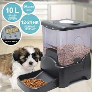 10L Pet Feeder Automatic Food Dispenser Cat Dog Bowl Digital Large Food Bowl Pets - Ultimate Dog Gear.jpg