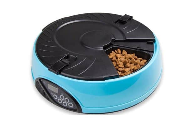 330Ml X6 Meal Digital Lcd Automatic Pet Feeder Dog Cat Food Bowl Timer Blue - Ultimate Dog Gear.jpg