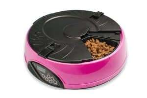 330Ml X6 Meal Digital Lcd Automatic Pet Feeder Dog Cat Food Bowl Timer Pink - Ultimate Dog Gear.jpg