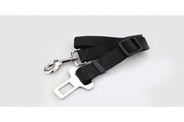 Adjustable Pet Car Vehicle Seat Belt Safety Seatbelt Harness Leash Lead Dog Cat - Ultimate Dog Gear.jpg