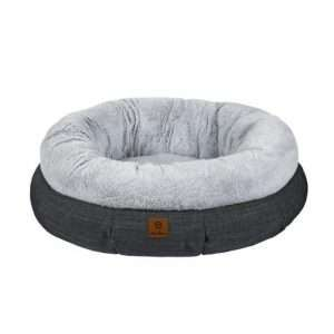 Charlie's Luxury Winter Plush Round Bed SIZE Large 91.5*91.5*27 - Ultimate Dog Gear.jpg