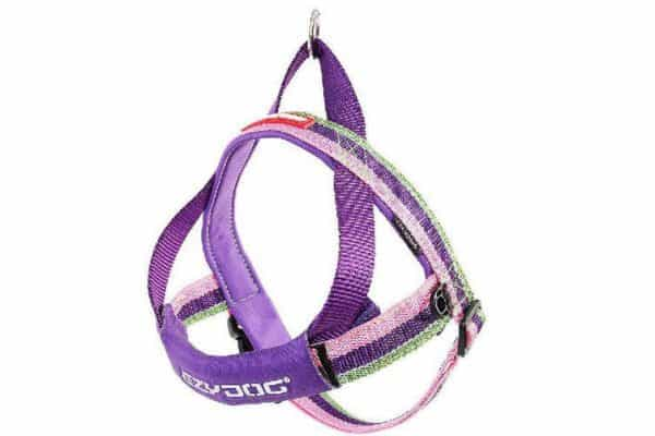 Ezydog Extra Large Bubblegum Quick Fit Dog Harness (84cm to 107cm) (Purple/Pink) - Ultimate Dog Gear.jpg