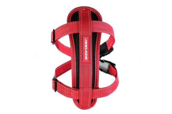 Ezydog X-Large Red Chest Plate Dog Harness (56cm to 97cm) Ezy Dog - Ultimate Dog Gear.jpg