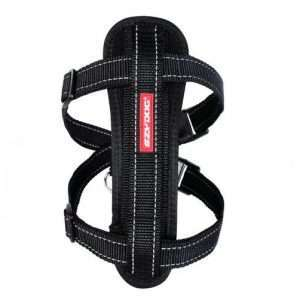 Ezydog X-Small Black Chest Plate Dog Harness (29cm to 48cm) Ezy Dog - Ultimate Dog Gear.jpg