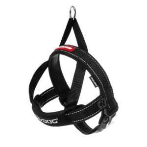Ezydog X-Small Black Quick Fit Dog Harness (38cm to 46cm) Ezy Dog - Ultimate Dog Gear.jpg
