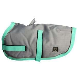 Grey/Aqua 75cm NightWalker Dog & Puppy Coat/Jacket (Pet One) - Ultimate Dog Gear.jpg