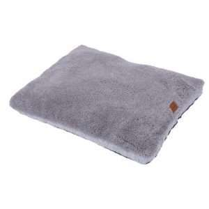 Paws & Claws 100cm x 80cm Large Primo Quilted Sherpa Pet/Dog Bed/Mattress Grey - Ultimate Dog Gear.jpg