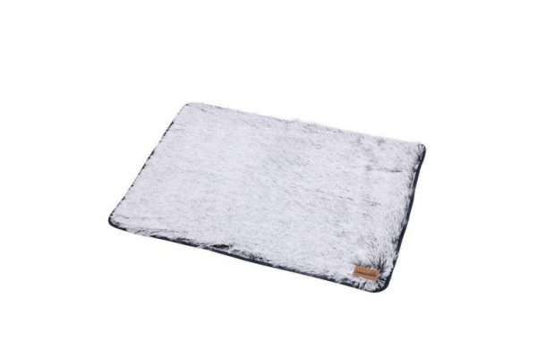 Paws & Claws 70cm x 100cm Large Calming Plush Pet/Dog Soft Durable Blanket Grey - Ultimate Dog Gear.jpg