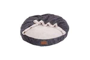 Paws & Claws 70x70cm Cat/Dog/Pets Primo Plush Blanket Bed Non-Slip Base Charcoal - Ultimate Dog Gear.jpg