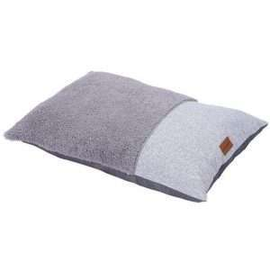 Paws & Claws 90cm x 60cm Medium Primo Sherpa Pillow Pet/Dog Bed/Mattress Grey - Ultimate Dog Gear.jpg