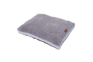 Paws & Claws 90cm x 70cm Medium Primo Quilted Sherpa Pet/Dog Bed/Mattress Grey - Ultimate Dog Gear.jpg
