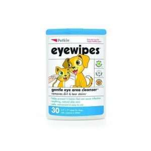 Pet Eyewipes for Dogs & Cats Gentle Eye Area Cleanser - Petkin - 30 Wipes - Ultimate Dog Gear.jpg