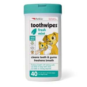 Pet Fresh Mint Toothwipes for Dogs