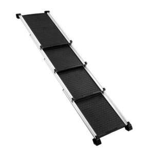 Petscene Extra Long Aluminium Dog Cat Pet Ramp Stairs Steps Ladder for Car SUV Truck - Ultimate Dog Gear.jpg