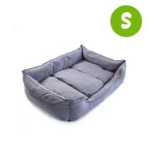 S 70 x 60 x 18cm Pet Suede Sofa HUSK - GREY - Ultimate Dog Gear.jpg