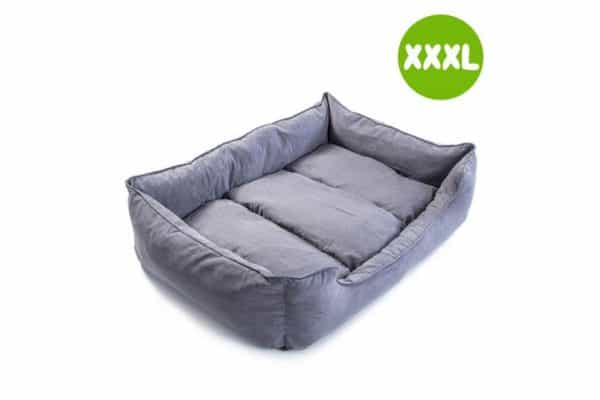 XXXL 120 x 100 x 25cm Pet Suede Sofa HUSK - GREY - Ultimate Dog Gear.jpg