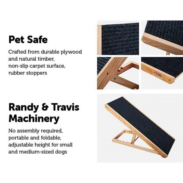 Height Adjustable Dachshund Dog Ramp | Free Shipping Australia Wide